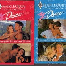Libros de segunda mano - Lote dos novelas Harlequin Deseo - 52758421