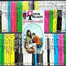 Libros de segunda mano: LOTE DE 167 NOVELAS ROMÁNTICAS CORIN TELLADO // SERIE SELECCIÓN CORAL // ED. BRUGUERA // AÑOS 60-70. Lote 53154160