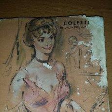 Libros de segunda mano: MITSOU OU COMMENT L´ESPRIT VIENT AUX FILLES. COLETTE. PARIS, 1946- TEXTO EN FRANCÉS. Lote 53358249