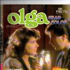 Libros de segunda mano: FOTONOVELA - OLGA GRAN COLOR - Nº 1102- LANCIO EDITORIAL 1986. Lote 125237560
