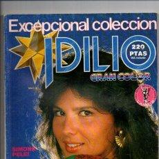 Libros de segunda mano: FOTONOVELA - IDILIO GRAN COLOR - AÑO 1 Nº 1 - LANCIO EDITORIAL 1985. Lote 171289728