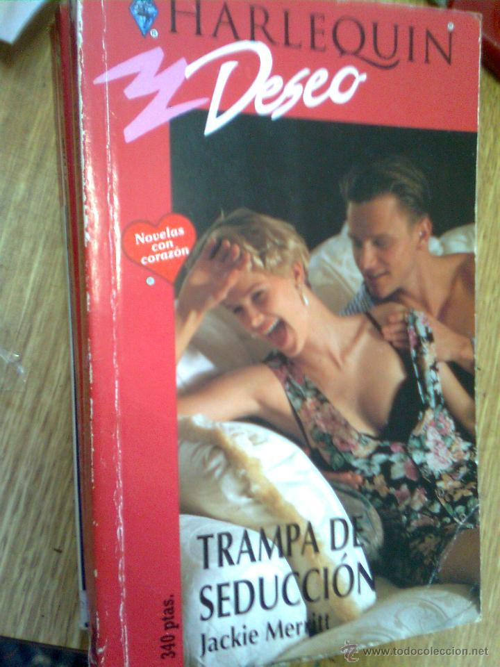 HARLEQUÍN DESEO Nº 681 - JACKIE MERRITT - TRAMPA DE SEDUCCIÓN (Libros de Segunda Mano (posteriores a 1936) - Literatura - Narrativa - Novela Romántica)