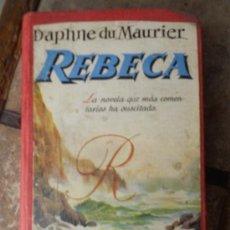 Libros de segunda mano: REBECA. Lote 53998266