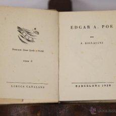 Libros de segunda mano: LP-113 - EDIC. DE LA ROSA DELS VENTS. 4 EJEMPLARES. VV. AA. TIP. LLUIS GUIA. 1938.. Lote 49783055