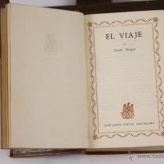 Libros de segunda mano: LP-129 - EDITOR JOSÉ JANÉS. CHARLES MORGAN. 2 VOLUM. (VER DESCRP). 1948/1951.. Lote 49923660