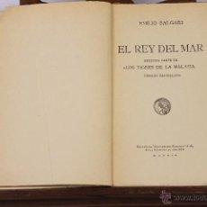 Libros de segunda mano: 6272 - E. SALGARI. 11 VOLUM.(VER DESCIPCCIÓN).EDIT. SATURNINO CALLEJA. 1941.. Lote 49394222