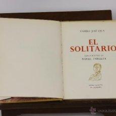 Libros de segunda mano: 6203 - EL SOLITARIO. CAMILO JOSÉ CELA. MUSEO SECRETO ALFAGUARA. 1965.. Lote 49305255