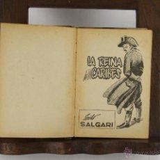 Libros de segunda mano: 5403- SALGARI. EDIT. MOLINO. DOS OBRAS. 1955.. Lote 45700520