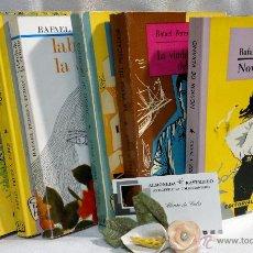 Libros de segunda mano: AÑO 1961-1967. RAFAEL PÉREZ Y PÉREZ. LOTE DE SEIS NOVELAS, PRIMERAS EDICIONES.. Lote 54998691