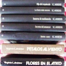 Libros de segunda mano: LOTE 7 LIBROS VC ANDREWS SEGUN FOTO. Lote 55047075