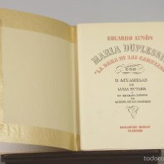 Libros de segunda mano: 7311 - LA DAMA DE LAS CAMELIAS. 2 VOLUM(VER DESCRIP). E. AUNÓS. EDI. BIBLIS. 1946.. Lote 55313806