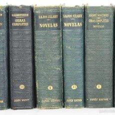 Libros de segunda mano: 4169 - EDITOR JOSÉ JANÉS. 6 VOLUMENES. VV. AA.(VER DESCRIP). 1950-1952.. Lote 55869264