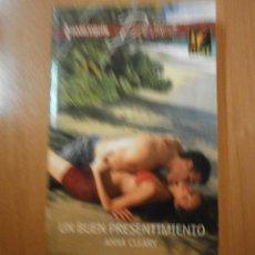 Libros de segunda mano: HARLEQUIN DESEO , UN BUEN PRESENTIMIENTO . Lote 56117413