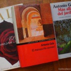 Libros de segunda mano: NOVELAS ANTONIO GALA. Lote 56169779