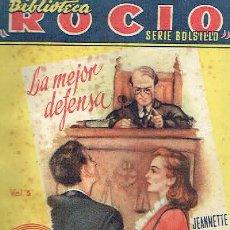 Libros de segunda mano: LA MEJOR DEFENSA. - JEANNETTE DE RENOIRD.. Lote 56362119