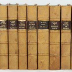 Libros de segunda mano: 7481 - OBRAS DE RICARDO LEÓN. 10 VOLUM(VER DESCRIP). EDI. VICTORIANO SUÁREZ. 1939-1943.. Lote 56591786