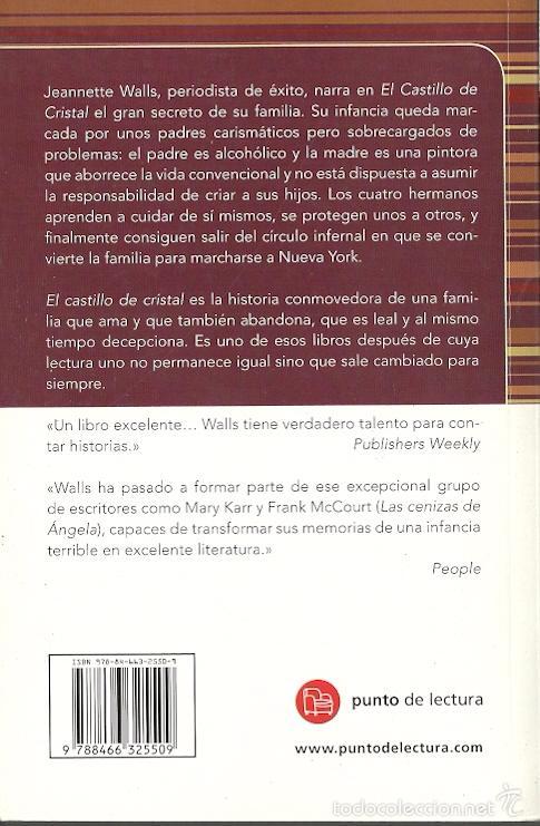 Libros de segunda mano: Jeannette Walls-El Castillo de Cristal.Prisa Ediciones.2012. - Foto 2 - 56676238
