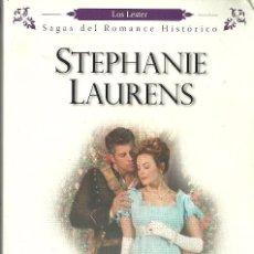 Libros de segunda mano: STEPHANIE LAURENS-LAS RAZONES DEL AMOR.LOS LESTER.HARLEQUIN IBÉRICA.2008.. Lote 144011893