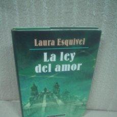 Libros de segunda mano: LAURA ESQUIVEL: LA LEY DEL AMOR. ILUSTRADO POR MIGUELANXO PRADO. Lote 28348452