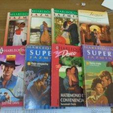 Libros de segunda mano: LOTE 8 NOVELAS ROMANTICAS - HARLEQUIN JAZMIN - OCASION. Lote 57394830