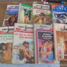 Livres d'occasion: LOTE 8 NOVELAS ROMANTICAS - HARLEQUIN JAZMIN - OCASION. Lote 57394843