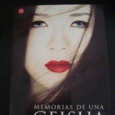 Libros de segunda mano: MEMORIAS DE UNA GEISHA. ARTHUR GOLDEN.. Lote 57465036