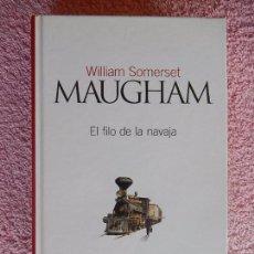 Livros em segunda mão: EL FILO DE LA NAVAJA CLASICOS DEL SIGLO XX 9 EL PAIS 2003 WILLIAM SOMERSET (2). Lote 57605679