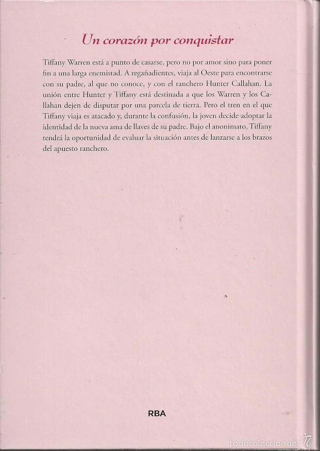 Libros de segunda mano: Johanna Lindsey-Un corazón por conquistar.RBA Coleccionables.2015. - Foto 2 - 57614721
