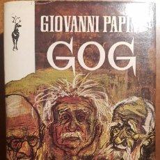 Libros de segunda mano: GIOVANNI PAPINI - GOG - EDICION 1970 - TRADUCCION MARIO VERDAGER. Lote 57718132