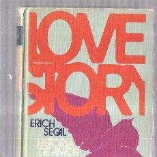 Libros de segunda mano: LOVE STORY (HISTORIA DE AMOR). ERICH SEGAL. CIRCULO DE LECTORES. BARCELONA 1970. 159 PAGS, 20,2X12,8. Lote 57867550