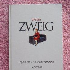 Libros de segunda mano: CARTA DE UNA DESCONOCIDA CLASICOS DEL SIGLO XX 13 EL PAIS 2003 STEFAN ZWEIG (2). Lote 57873975