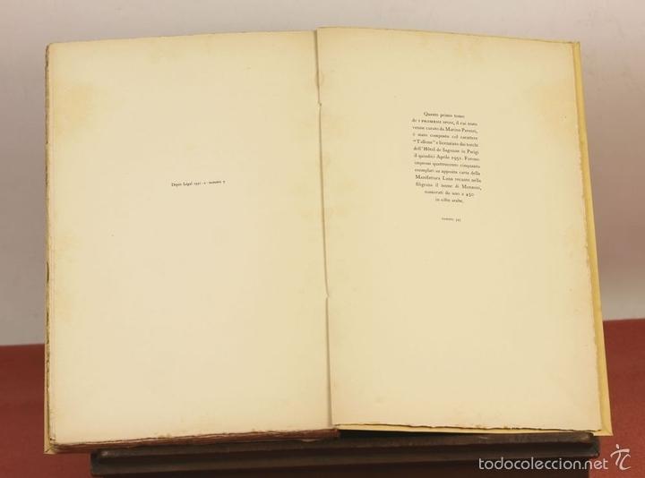 Libros de segunda mano: 7760 - I PROMESSI SPOSI. A. MANZONI. TOMOS I, II Y III(VER DESCRIP). IMP. A. TALLONE. 1951/52. - Foto 4 - 57965859