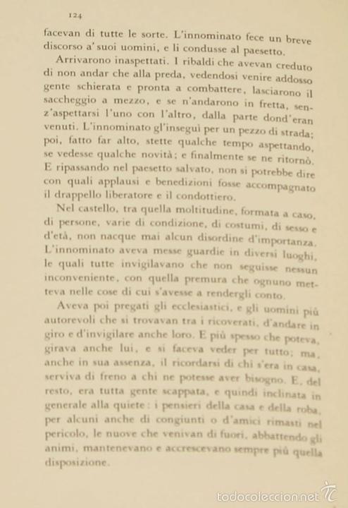 Libros de segunda mano: 7760 - I PROMESSI SPOSI. A. MANZONI. TOMOS I, II Y III(VER DESCRIP). IMP. A. TALLONE. 1951/52. - Foto 11 - 57965859