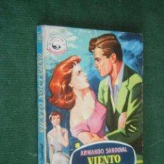 Libros de segunda mano: VIENTO NOCTURNO, DE ARMANDO SANDOVAL, ED.BRUGUERA. COL.MADREPERLA 362, 1955. Lote 58178635