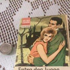 Libros de segunda mano: MINI LIBROS BRUGUERA, SERIE ROSA. CORÍN TELLADO. ENTRE DOS LUCES. Lote 58341804