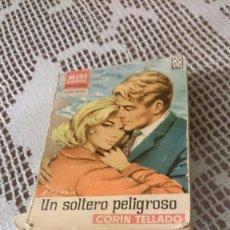 Libros de segunda mano: MINI LIBROS BRUGUERA, SERIE ROSA. CORÍN TELLADO. UN SOLTERO PELIGROSO.. Lote 58341810