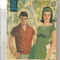 Libros de segunda mano: MADREPERLA. Nº 801. FELICIDAD. CORÍN TELLADO. BRUGUERA 1964. (P/D71). Lote 58360182
