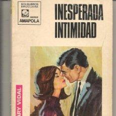 Libros de segunda mano: AMAPOLA. Nº 935. INESPERADA INTIMIDAD. MARY VIDAL. BRUGUERA. (ST/27). Lote 58578145