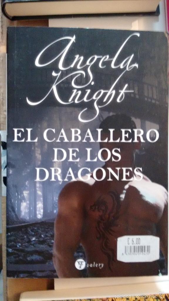 EL CABALLERO DE LOS DRAGONES DE ANGELA KNIGHT (Libros de Segunda Mano (posteriores a 1936) - Literatura - Narrativa - Novela Romántica)