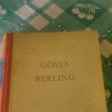 Libros de segunda mano: SELMA LAGERLOF, GOSTA BERLING 1956,ALEMÁN . Lote 59690803