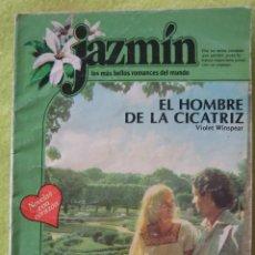 Libros de segunda mano: JAZMIN_ EL HOMBRE DE LA CICATRIZ. Lote 60842075