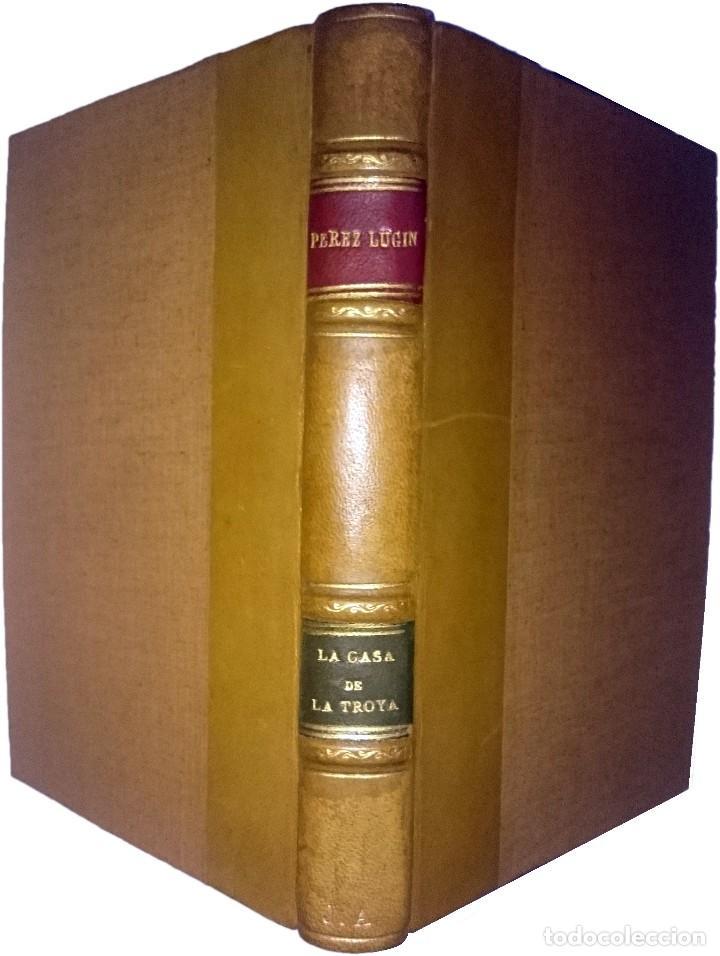 LA CASA DE TROYA : ESTUDIANTINA / ALEJANDRO PÉREZ LUGÍN (Libros de Segunda Mano (posteriores a 1936) - Literatura - Narrativa - Novela Romántica)