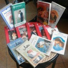 Libros de segunda mano: LOTE DE NOVELAS ROMÁNTICAS HARLEQUIN. Lote 61553783