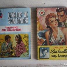 Libros de segunda mano: LOTE 2 NOVELAS ROMANTICAS. Lote 62194796