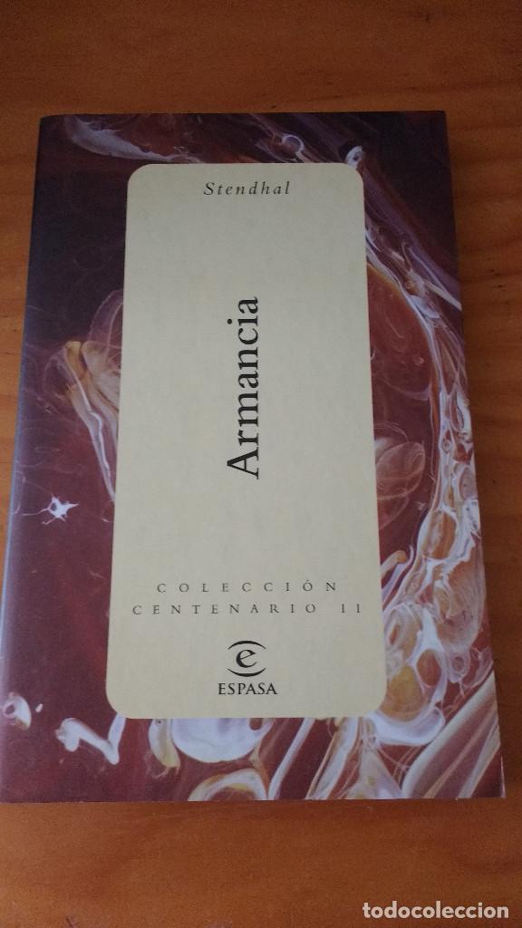 ARMANCIA (STENDHAL) (ESPASA - 2000) (Libros de Segunda Mano (posteriores a 1936) - Literatura - Narrativa - Novela Romántica)