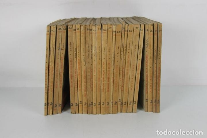 Libros de segunda mano: 5072- EDITORIAL REGUERA. COLECCION OASIS. NOVELA. 26 TITULOS. PRIMERAS EDICIONES. AÑOS 40. - Foto 2 - 45063988