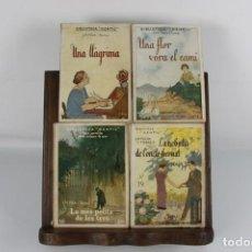 Libros de segunda mano: 5076- BIBLIOTECA GENTIL. J.M. FOLCH I TORRES. COLECCION DE 51 TITULOS. LIB. BAGUÑA. SIN FECHA.. Lote 45068624