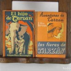 Libros de segunda mano: 5079- AVENTURAS DE TARZAN. RICE BURROUGHS. EDITORIAL GILI. 10 TITULOS. 1948.. Lote 45076385