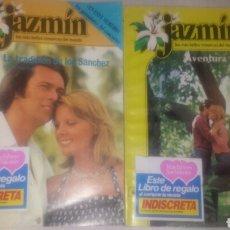 Libros de segunda mano: NOVELAS JAZMIN- LA TRADICIÓN DE LOS SANCHEZ N°29- AVENTURA PASIONAL N°11- 1980. Lote 118455648