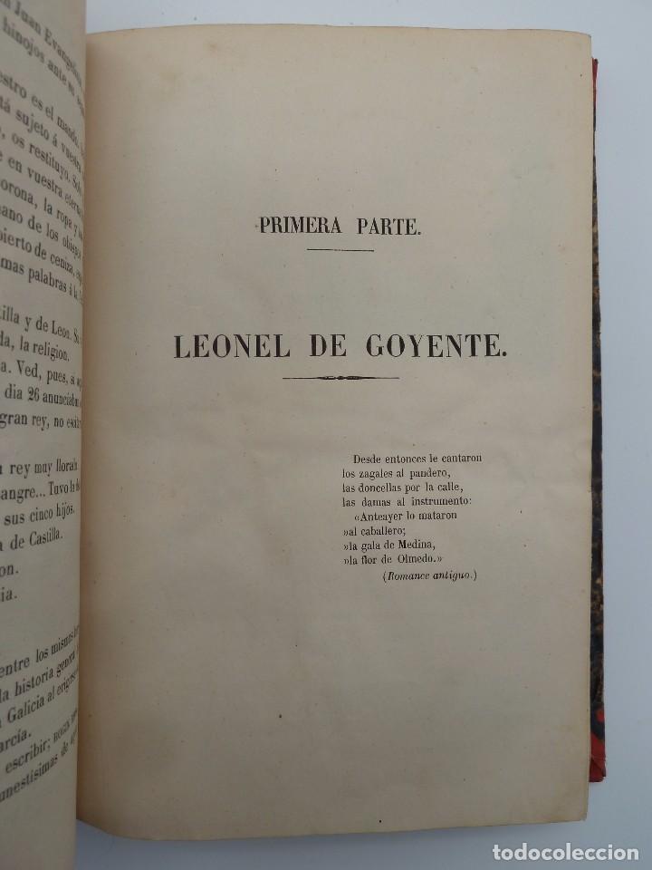 Libros de segunda mano: ROGIN ROJAL EL PAGE DE LOS CABELLOS DE ORO (Benito Vicetto) J.J. Martínez 1857. Novela caballeresca - Foto 6 - 67343037
